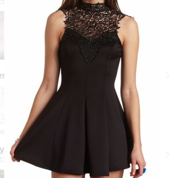 4a99466b11ac Charlotte Russe Dresses | Black Lace Dress | Poshmark